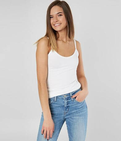 BKE core Long Length Two-Way Tank Top
