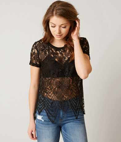 BKE Boutique Lace Top