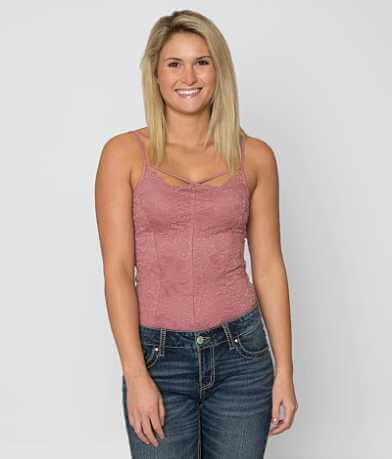 BKE Boutique Lace Bodysuit