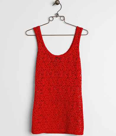 BKE Boutique Glitter Tank Top