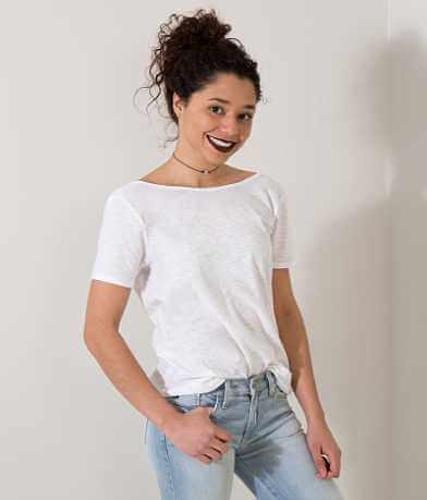 FITZ + EDDI Slub Fabric T-Shirt