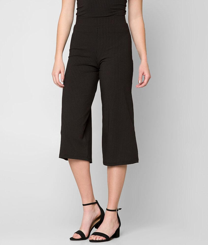 grehy Ribbed Gaucho Pant front view