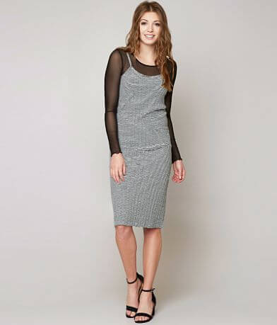 grehy Ribbed Midi Dress