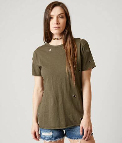 Gilded Intent Scoop Neck Top
