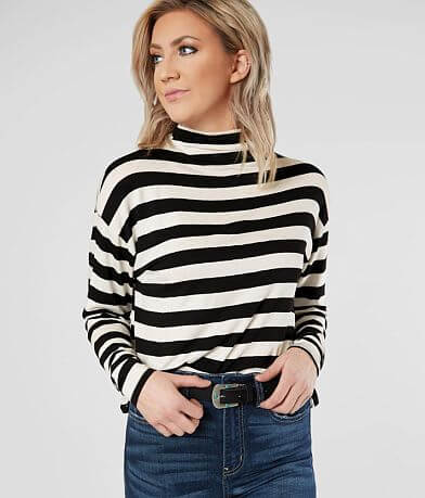 BKE Mock Neck Top