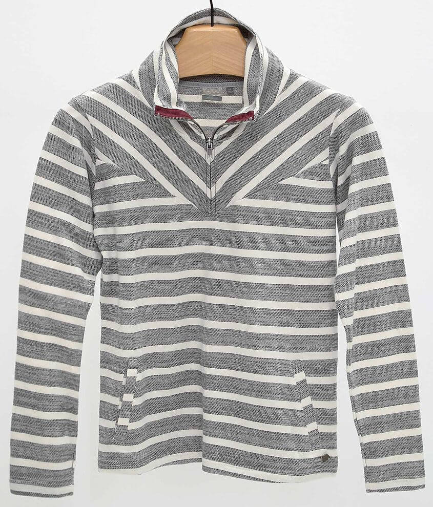 Fade by BKE Striped Sweatshirt front view