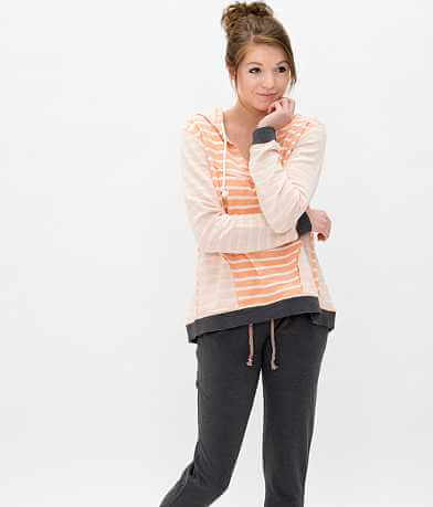 BKE lounge Striped Sweatshirt
