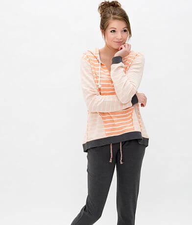 BKE lounge Striped Sweatshirt