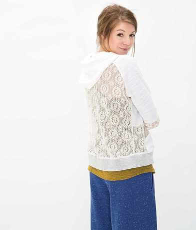 BKE lounge Pieced Sweatshirt
