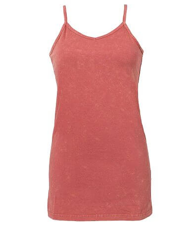 BKE Acid Washed Tank Top