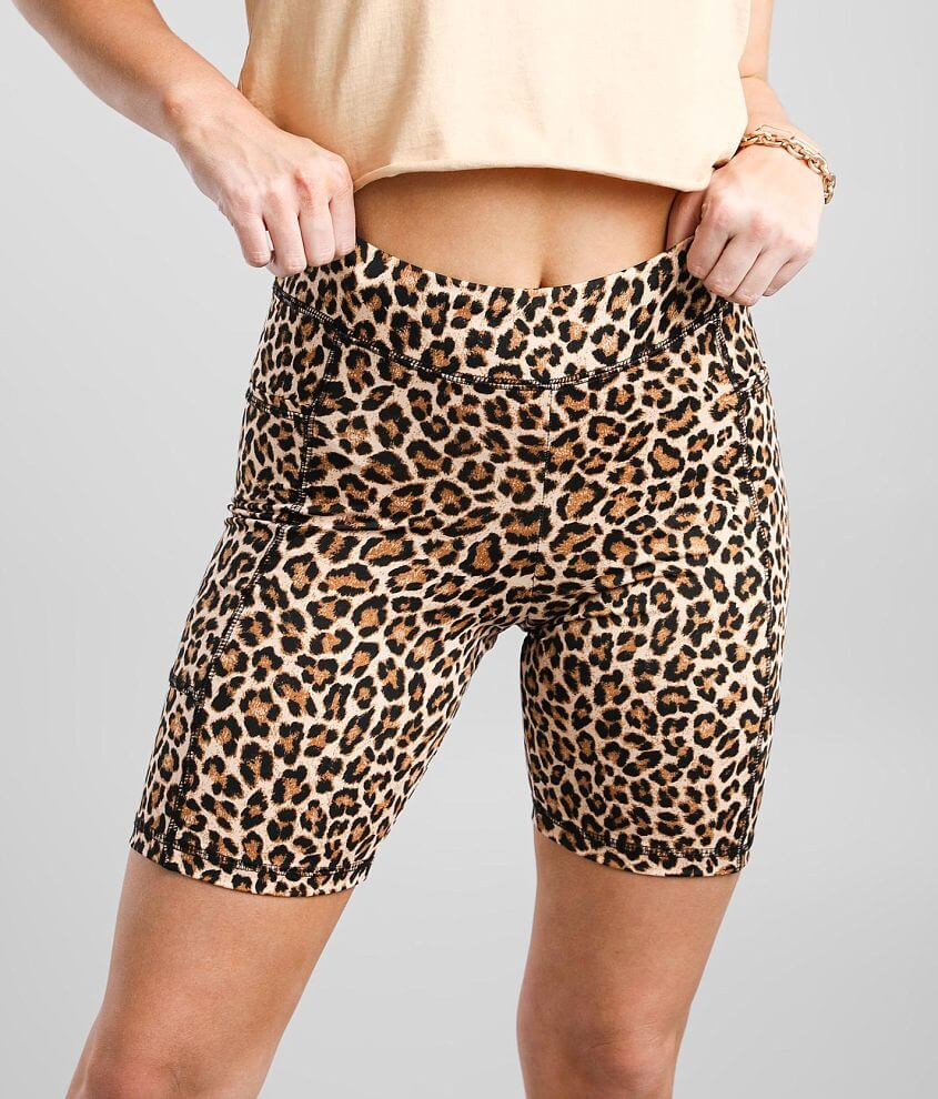Gilded Intent Pocketed Active Biker Short front view