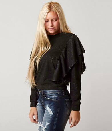 Gimmicks Ruffle Sweatshirt