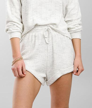 BKE Ribbed Knit Cuffed Short