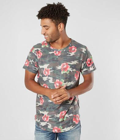 Nova Industries Destructed Floral T-Shirt