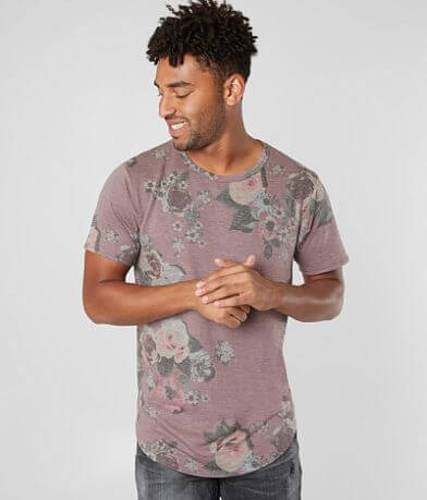 Nova Industries Washed Floral T-Shirt