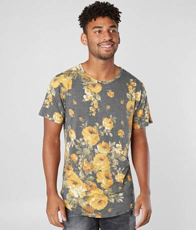 Nova Industries Floral Print T-Shirt