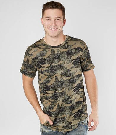 Nova Industries Camo Long Body T-Shirt