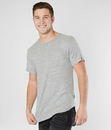 Nova Industries Ribbed Long Body Stretch T-Shirt