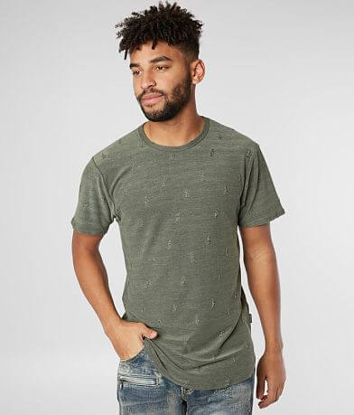 Nova Industries Destructed Long Body T-Shirt