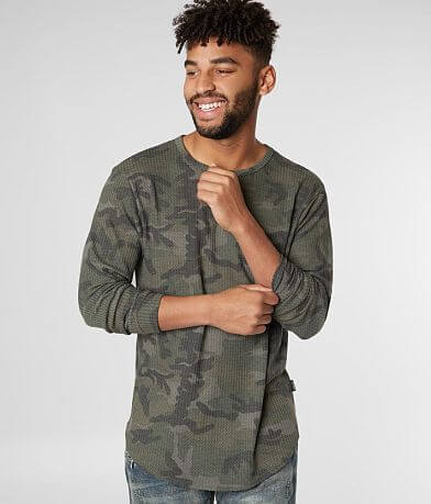 Nova Industries Camo Long Body Thermal Shirt