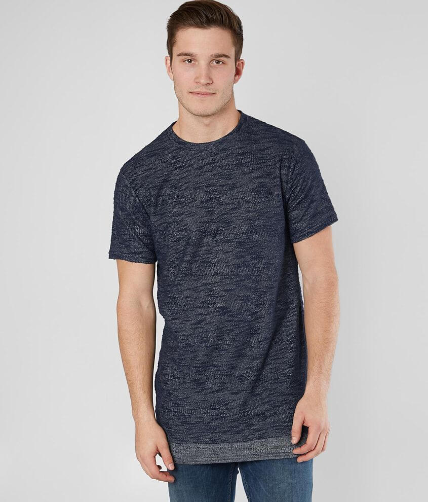Nova Industries Layered French Terry T-Shirt front view
