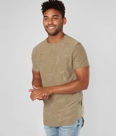 Nova Industries Destructed Long Body T-Shirt