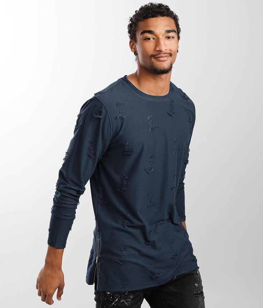 Nova Industries Shredded T-Shirt front view