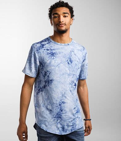 Nova Industries Tie Dye Long Body T-Shirt