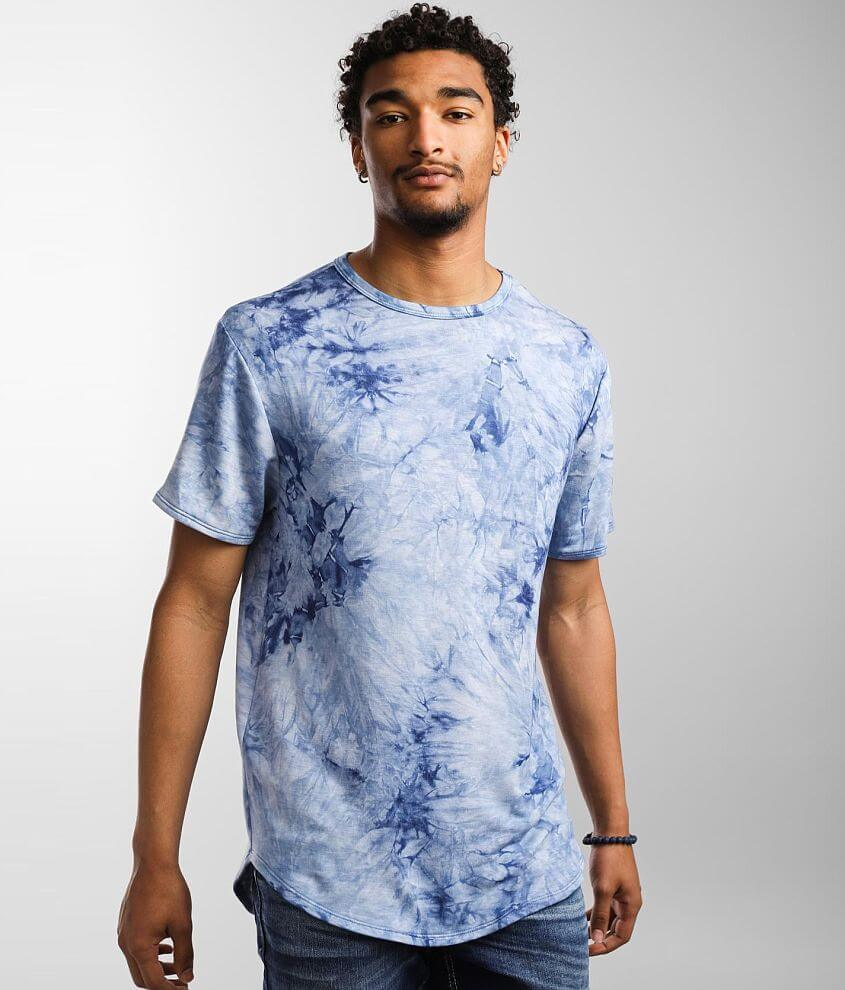 Nova Industries Tie Dye Long Body T-Shirt front view