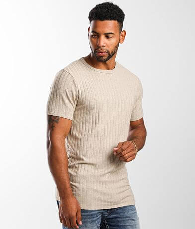 Nova Industries Wide Ribbed Hacci T-Shirt