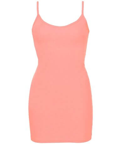 BKE Extra Long & Lean V-Neck Tank Top