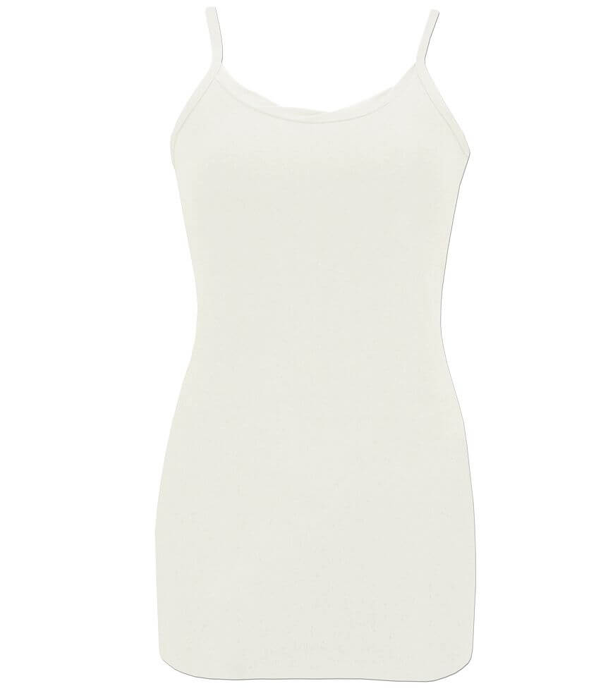 BKE Twisted Neck Tank Top front view