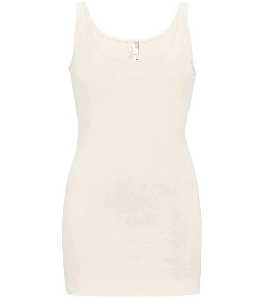 BKE Extra Long Tank Top front view