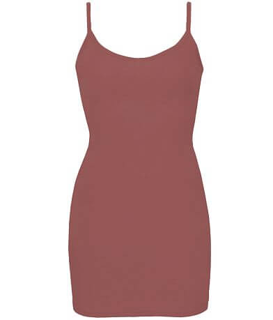 BKE core V- Neck Extra Long & Lean Tank Top