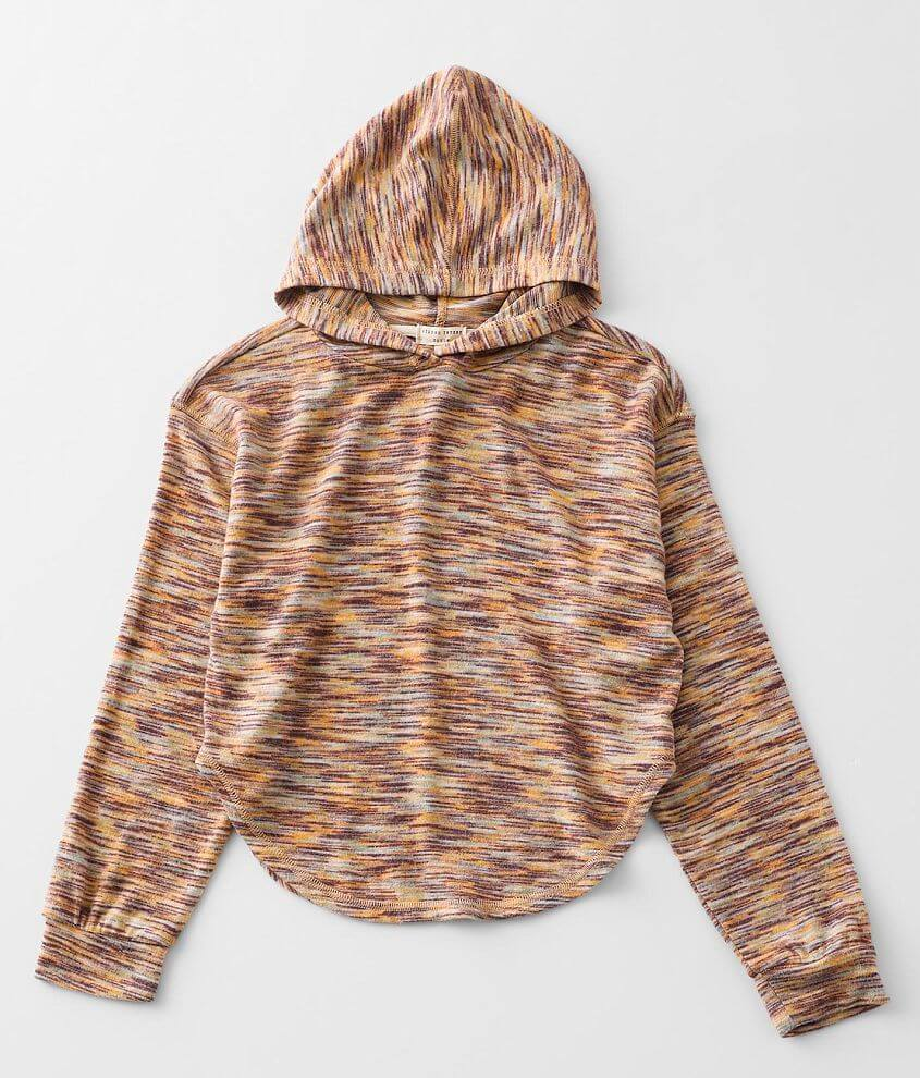 Girls - Gilded Intent Space Dye Hoodie front view