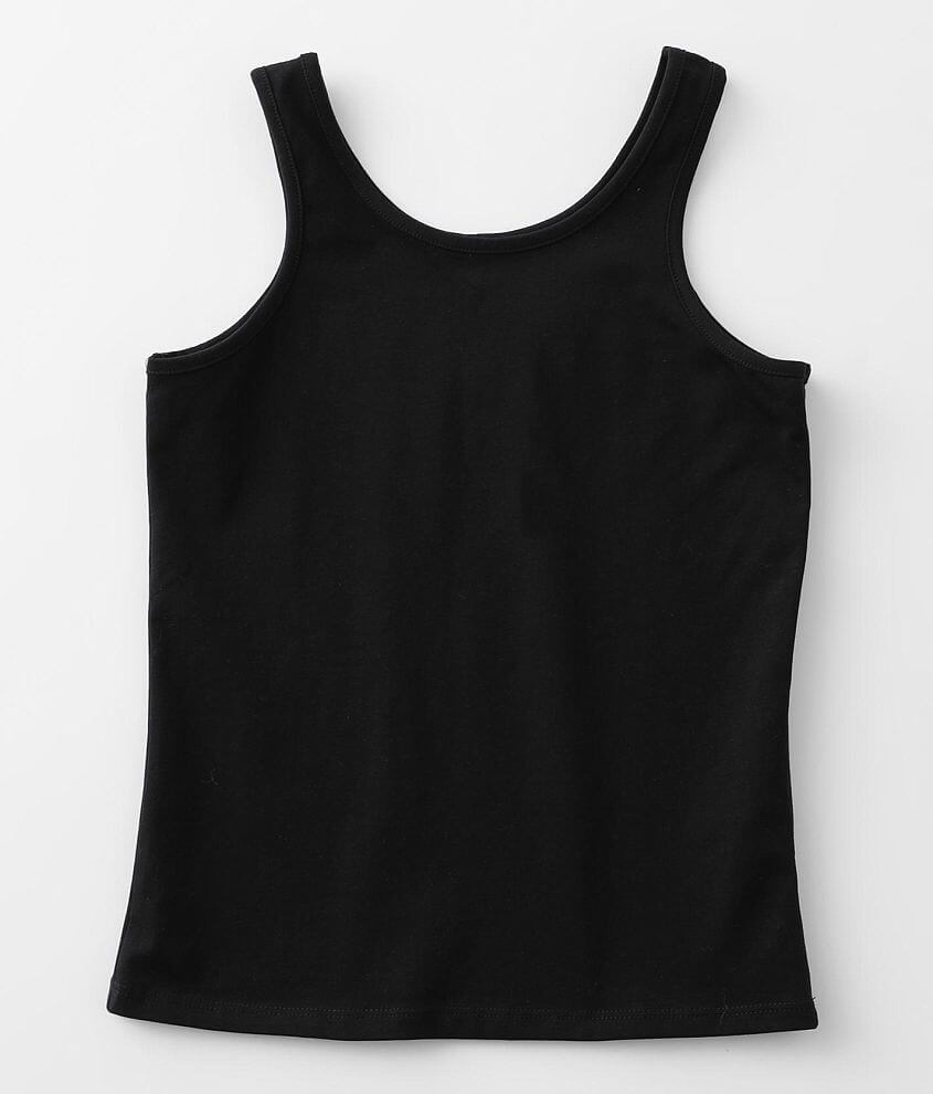 Girls - BKE core Wide Strap Basic Tank Top front view