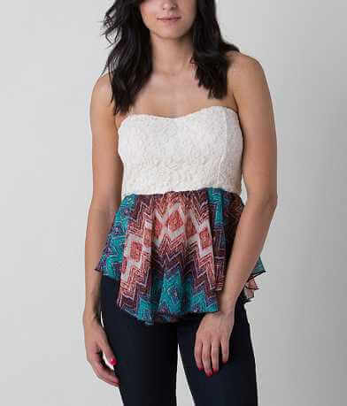 Daytrip Lace Tube Top
