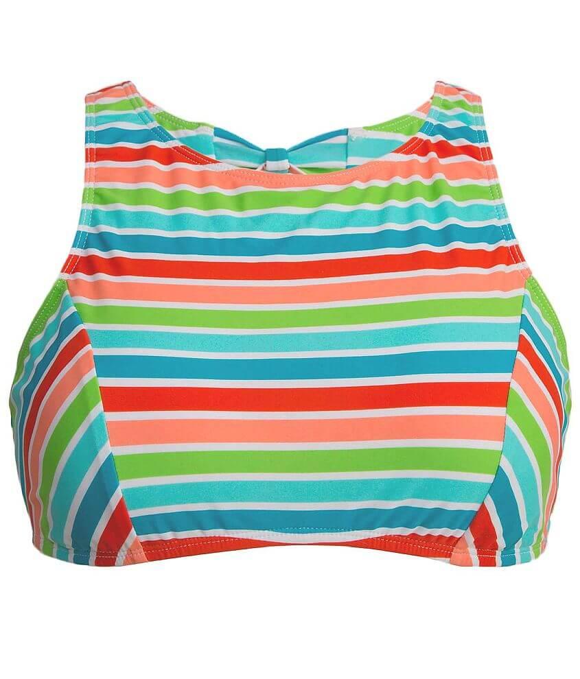 Bikini Lab Rainbow Perfection Swimwear Top front view