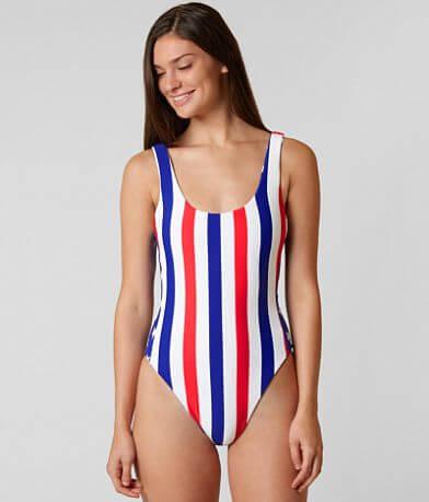 Bikini Lab Red White & True Swimsuit