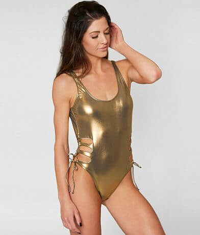 Bikini Lab Metallic Swimsuit