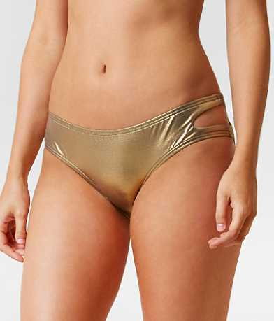 Bikini Lab Metallic Swimwear Bottom