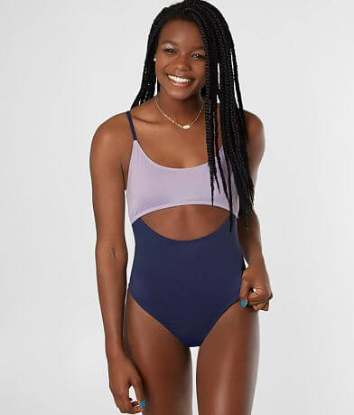 BCBGeneration Lab Color Block Swimsuit