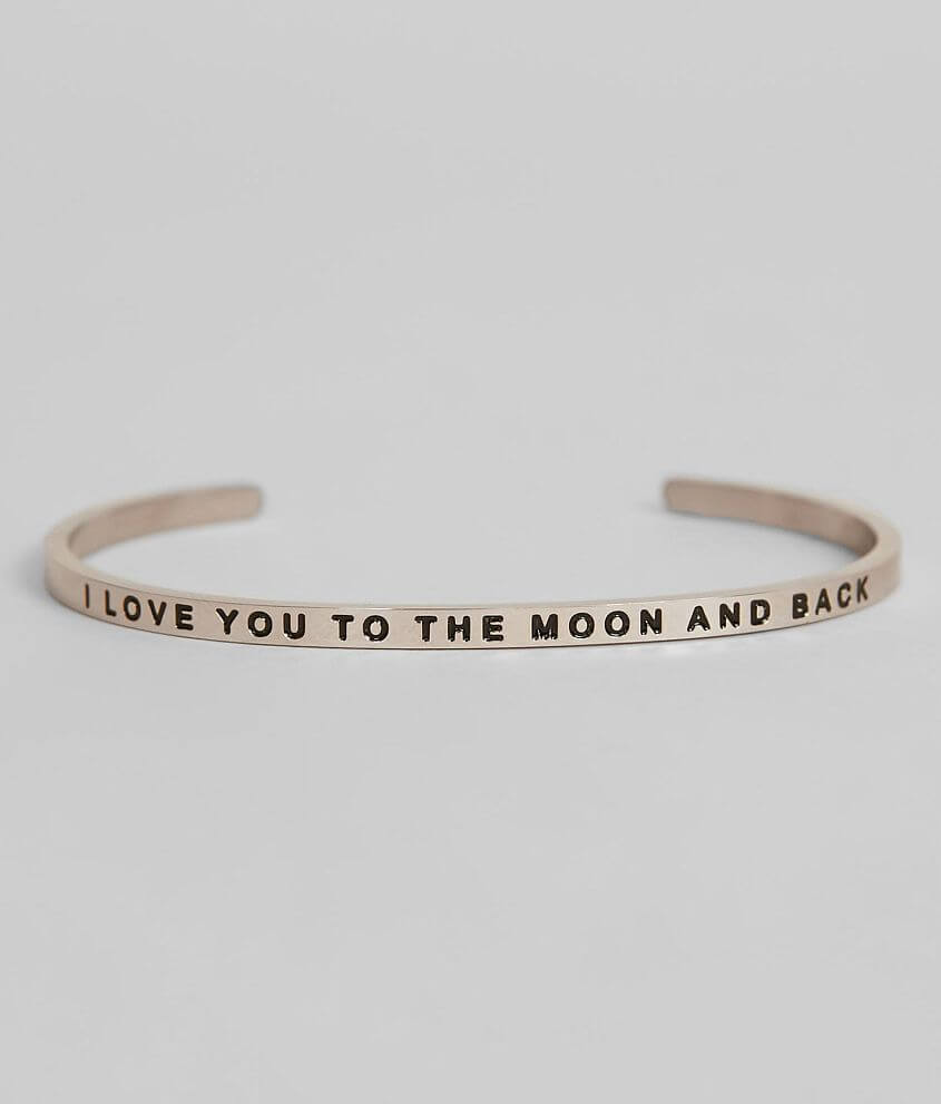 MantraBand® Love You To The Moon Bracelet front view