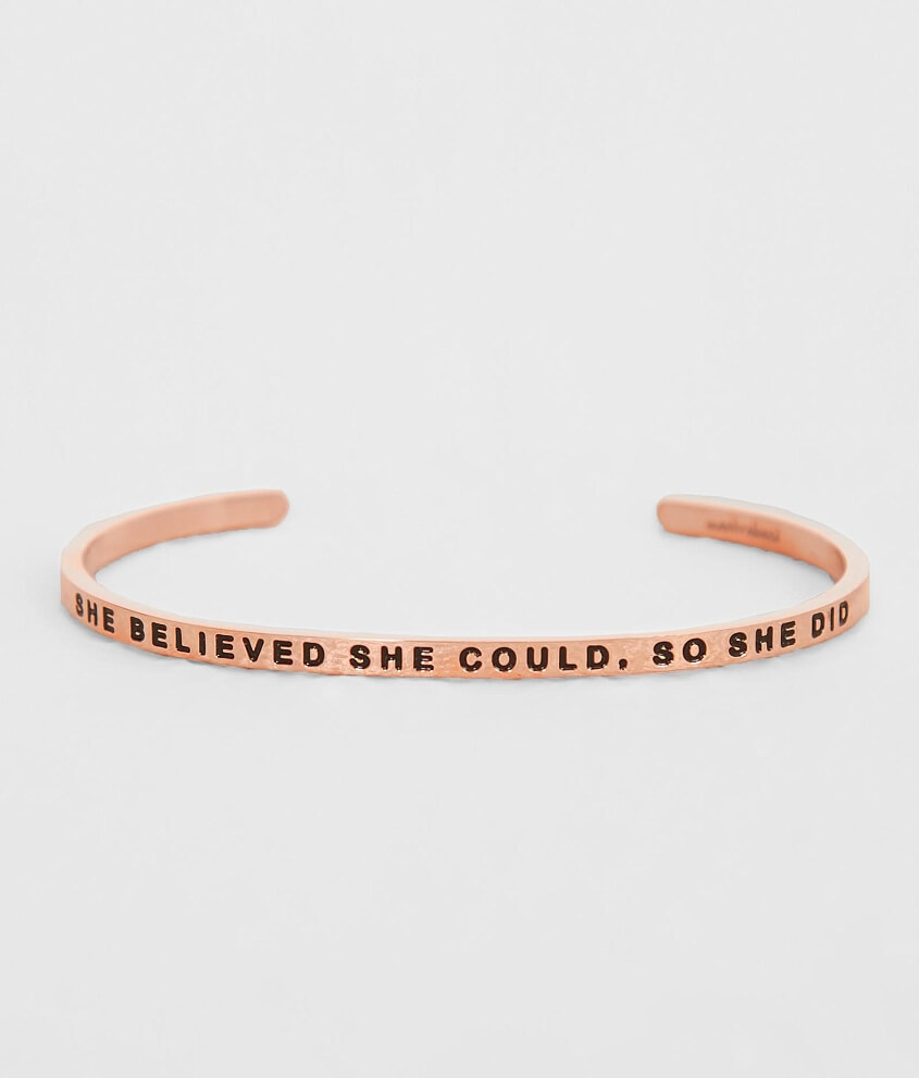 Image result for mantraband she believed she could