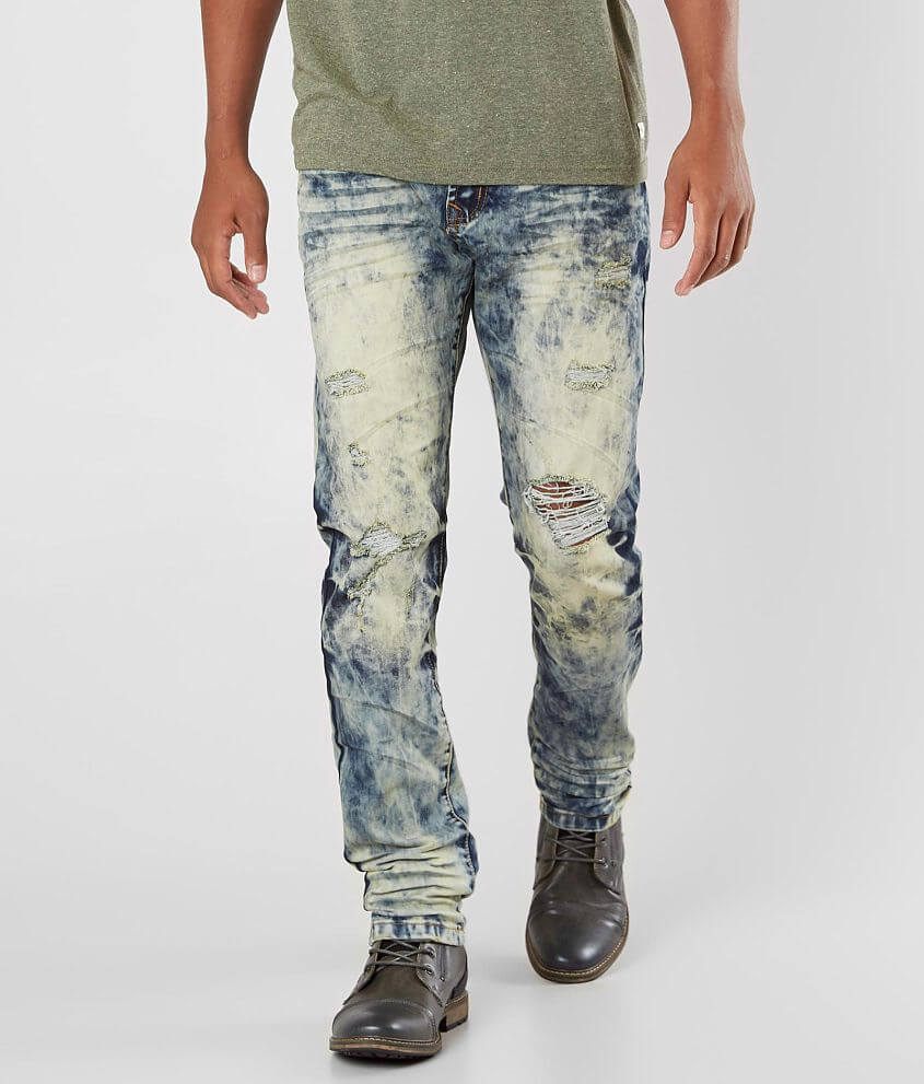 R.sole Washed Skinny Stretch Jean front view