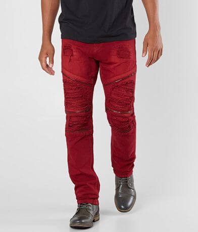 R.sole Shredded Moto Skinny Jean