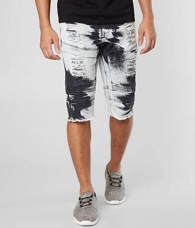 R.sole Washed Moto Stretch Short