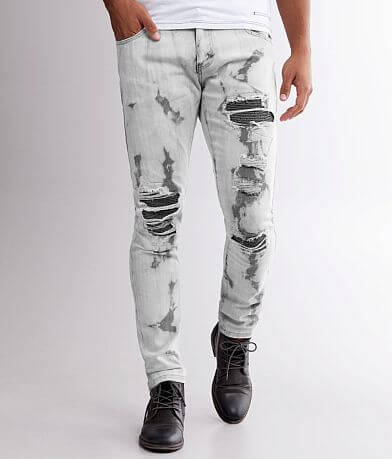 R.sole Bleach Washed Skinny Stretch Jean