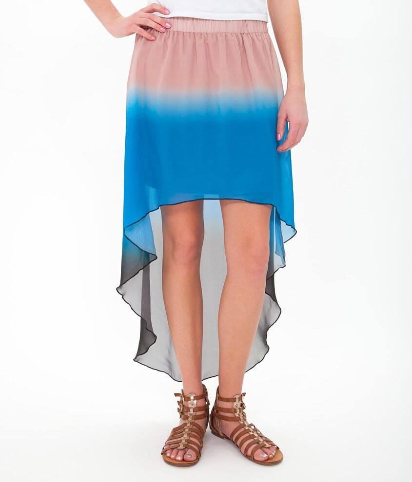 Daytrip High Low Hem Skirt front view