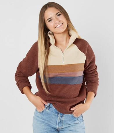 FITZ + EDDI Striped Sweatshirt